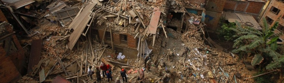 Nepal devastating earthquake